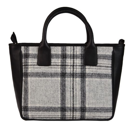 Grey addition from Mala Leather's Abertweed collection. www.malaleather.com