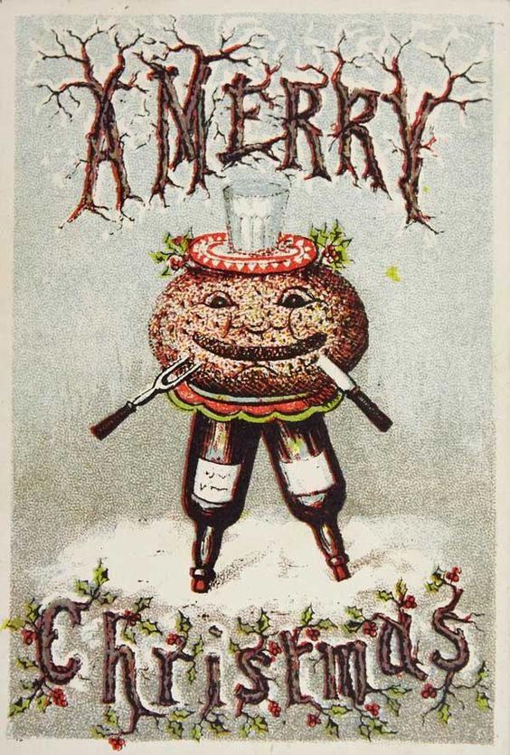 The War on Christmas Cards: Dead Robins, Used Paperclips, and Other Secular Greetings | Collectors Weekly: