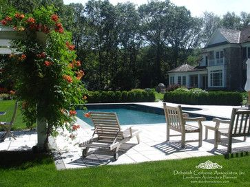 A Franklin Lakes Residence - traditional - pool - new york - by Deborah Cerbone Associates, Inc.: