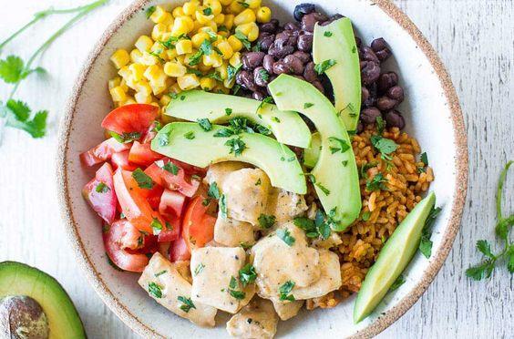 Buffalo Chicken Burrito Bowls | Hidden Valley®