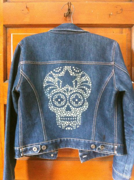 Picture of Laser Etched Denim Jacket