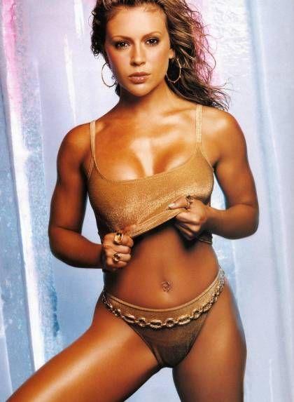 Alyssa milano, Photos ... Arnold Schwarzenegger Movies