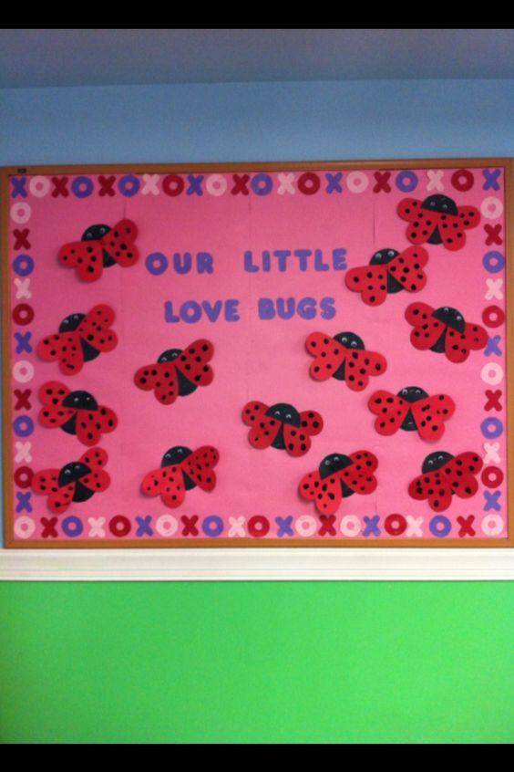 February bulletin board! Great for 2-4yr olds | Bulletin boards ...