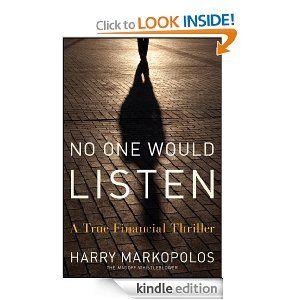 Bernie Madoff financial thriller and no one would listen.,,