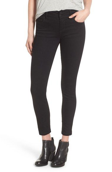 STS Blue Double Button Skinny Jeans available at #Nordstrom: