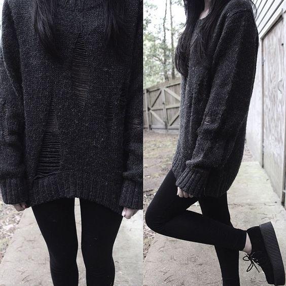 Really love dark fashion its always something I look forward too