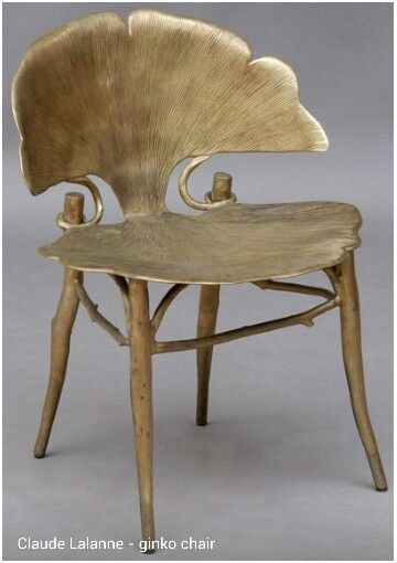 Claude Lalanne - Ginko chair: