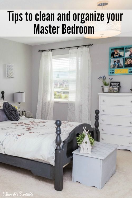 how to organize your master bedroom grey bed everything and wood