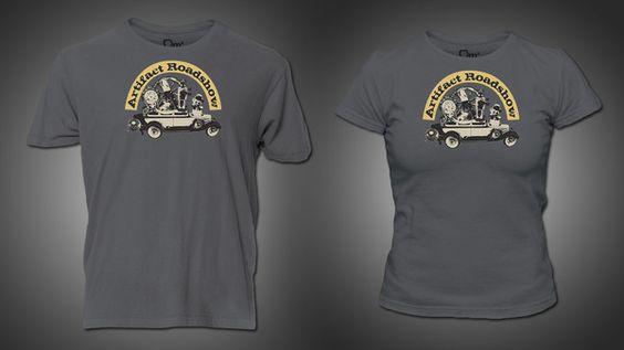 Artifact Roadshow T-Shirt. I NEED THIS. PLEASE, SOMEONE,