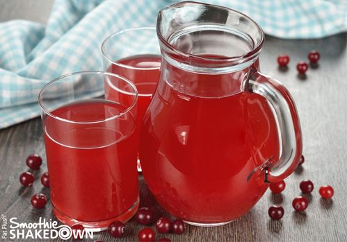 Fat Flush Water: Cran-Water Official Recipe