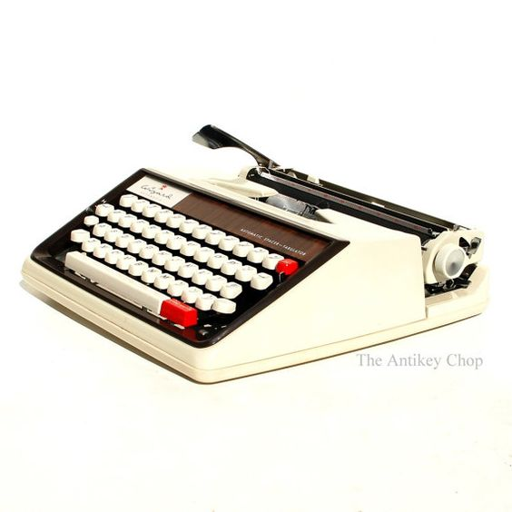 Revitalized Brother Wizard Typewriter from The Antikey Chop on Etsy