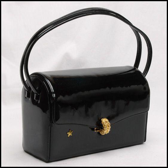 Image Result For Black Patent Handbag