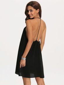 Backless Little Black Dress Photo Album - Reikian
