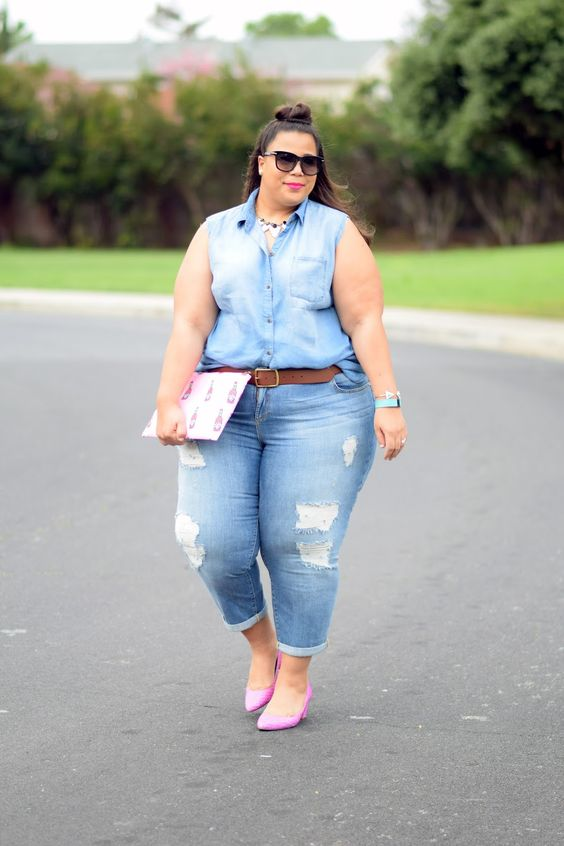 Plus size jeans - Plus Size Fashion for Women  FATshionistas