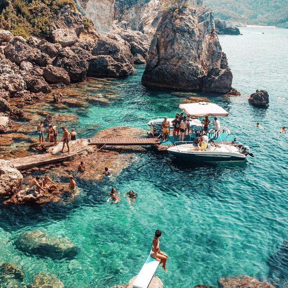 A Beginner's Guide to Greek Island Hopping With a Group | Visit La Grotta Corfu
