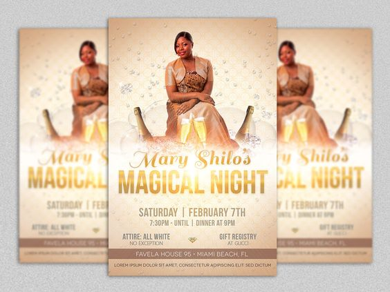 Jazz Concert Flyer Template by Godserv Marketplace on Creative - invitation flyer template