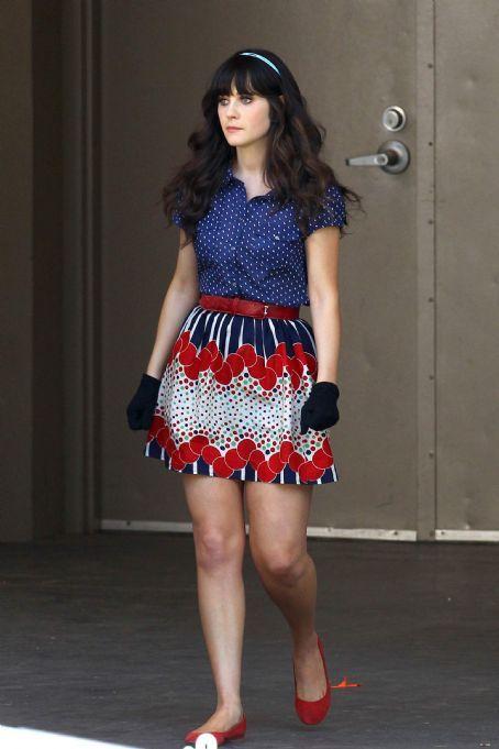 #new_girl #jess #style #skirt