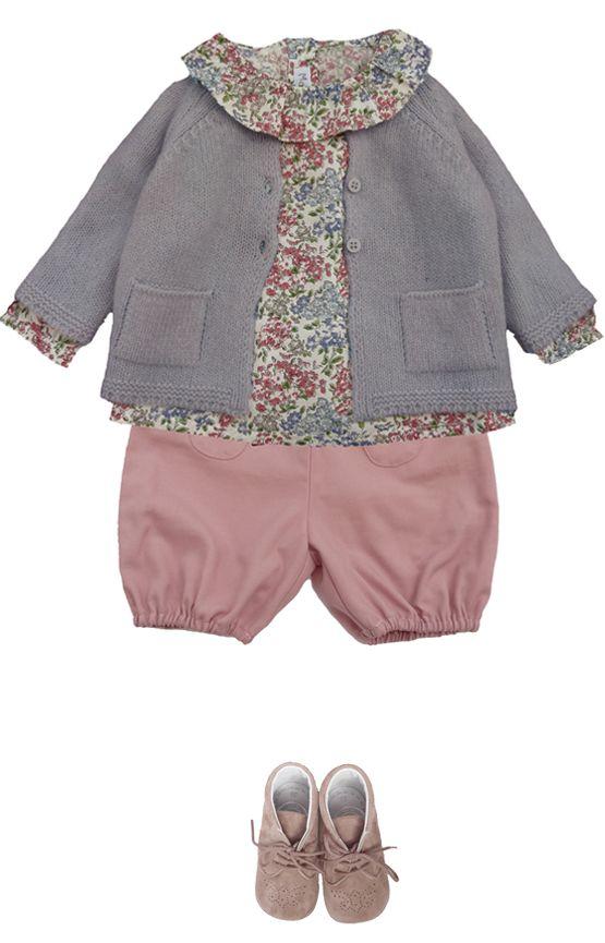 Marie Puce Paris - vêtements de créateur pour enfant - Look bébé n°3