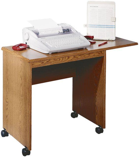 typing stand medium oakironwood - 1-800-460-0858 - free