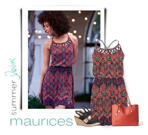 """maurices Contest: Summer Lovin'"" by roxy75 ❤ liked on Polyvore featuring мода и maurices"