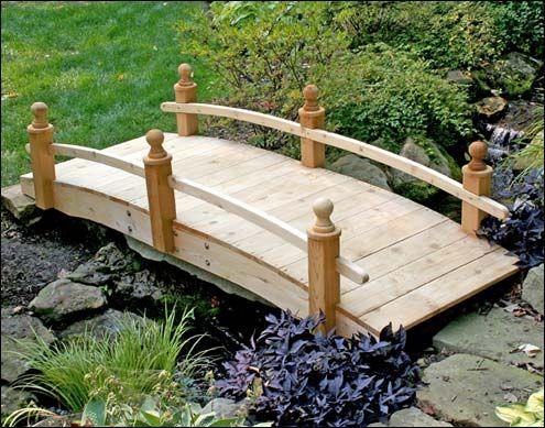 Garden Bridges Wooden Bridge Designs Custom Wood