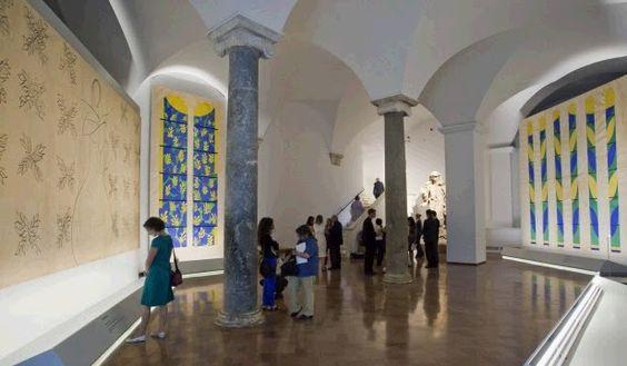 Un contemporaneo sotto la sistina svelata la sala matisse for Arredi sacri roma