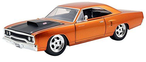 Pre-Built Model Ground Vehicles - Jada Toys Fast  Furious 124 Diecast  Plymouth Road Runner ** You can get more details by clicking on the image.