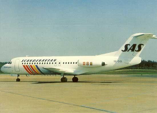 Famgus Aviation Postcards Sas Scandinavian Airlines System In 2020 Scandinavian Airlines System Airlines Sas