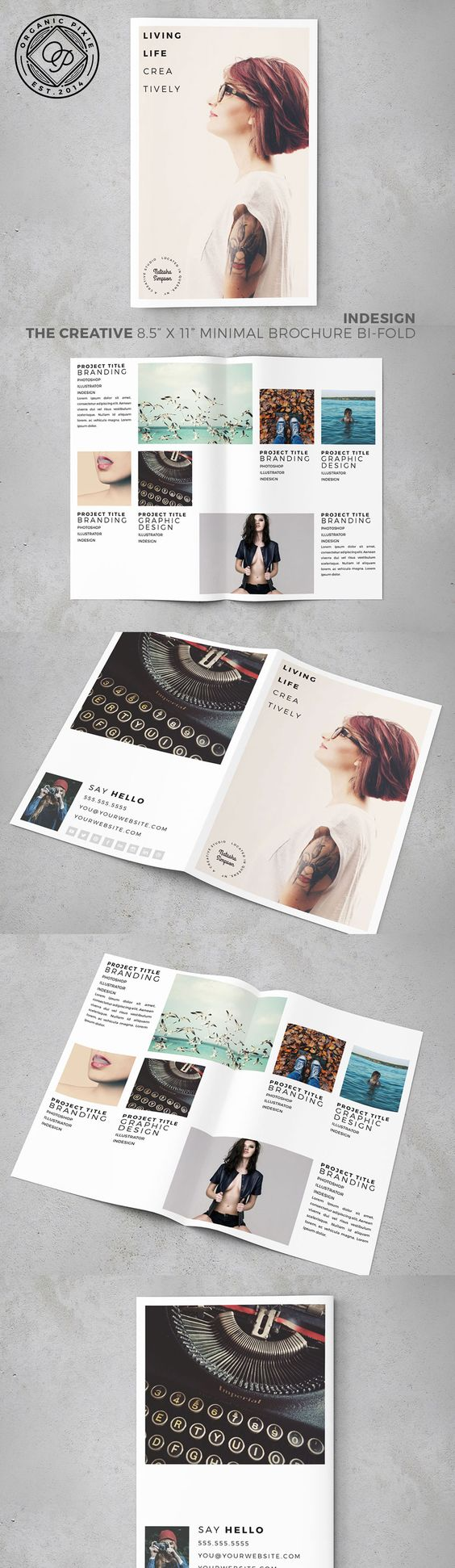 8 5 x 11 brochure template - brochure design brochure design templates and brochures