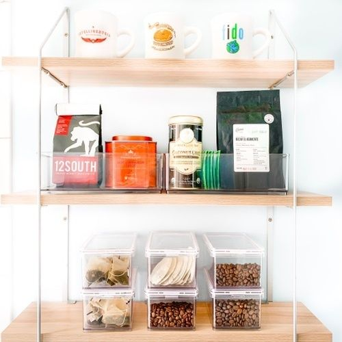 Fashion Look Featuring Container Store Storage Containers By Thehomeedit Shopstyle The Home Edit Clutter Free Kitchen Pantry Closet Organization