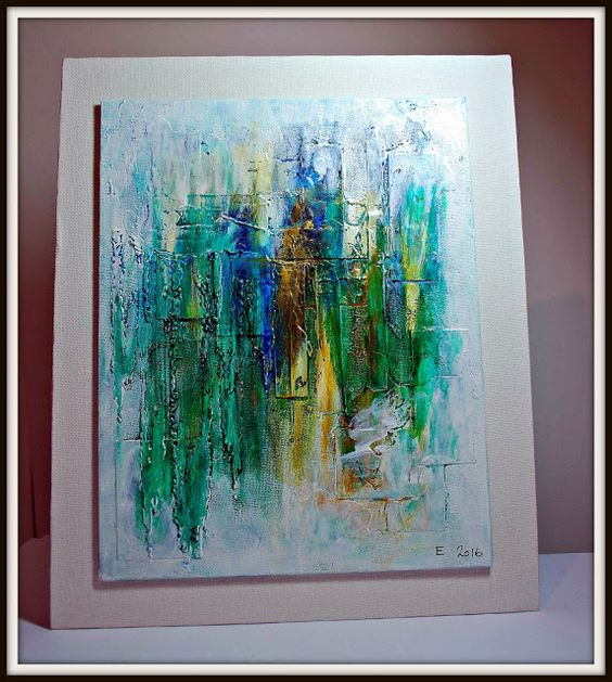 Eileen's Crafty Zone: DecoArt Paints on a Canvas... or Two!