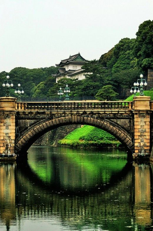 Visit the gardens of Tokyo's Imperial Palace during our Discovering Japan tour. http://www.greatrail.com/tours/discovering-japan/