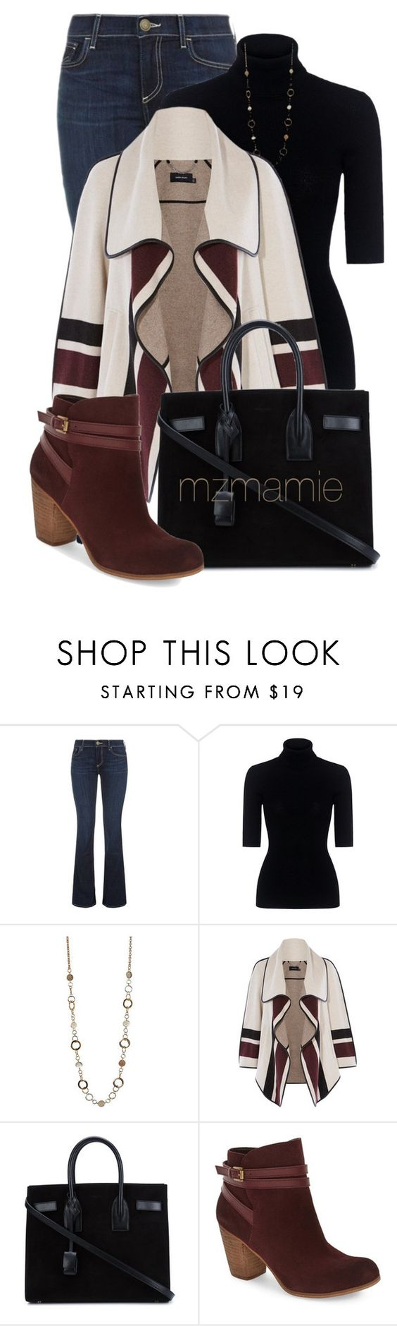 """Untitled #2810"" by mzmamie ❤ liked on Polyvore featuring True Religion, Theory, Karen Millen, Yves Saint Laurent and BP."