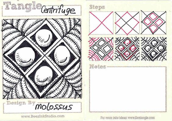 Centrifuge-My Tangle Pattern