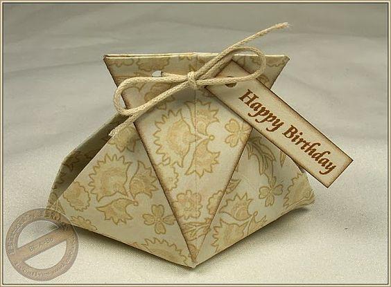 Täschchen - Origami