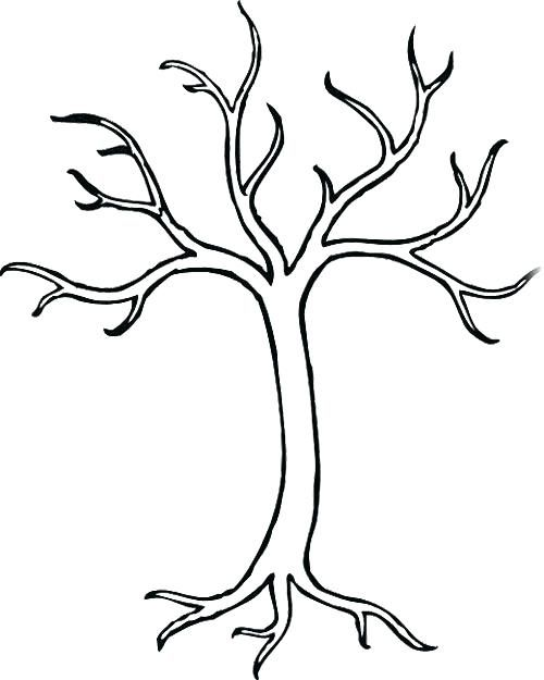 Vaizdo Rezultatas Pagal Uzklausa Colouring Tree Without Leaves Tree Drawing Simple Tree Coloring Page Leaf Coloring Page