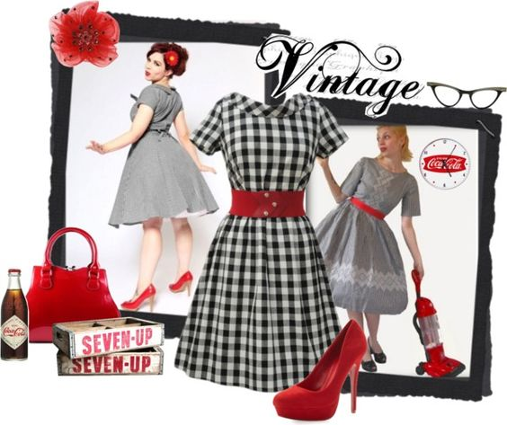 """1960 Vintage"" by lv2create ❤ liked on Polyvore"