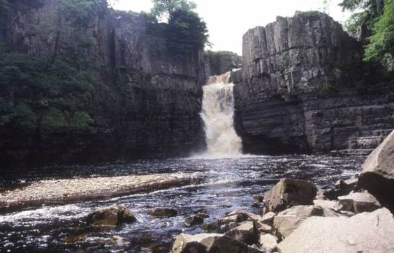 High Force waterfall, County Durham, England (Photo by: Geography Photos/Universal Images Group via Getty Images)