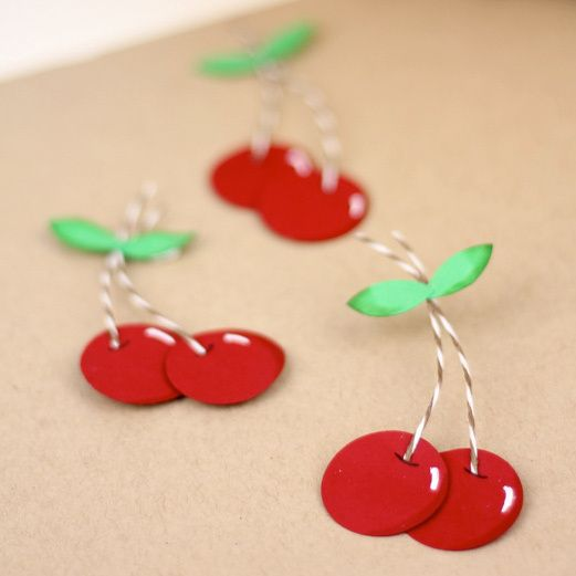 Super Sweet Paper Punch Cherries Paper Punch, Punch and Cherries