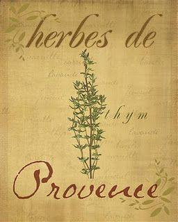 Herbes de Provence: Thym