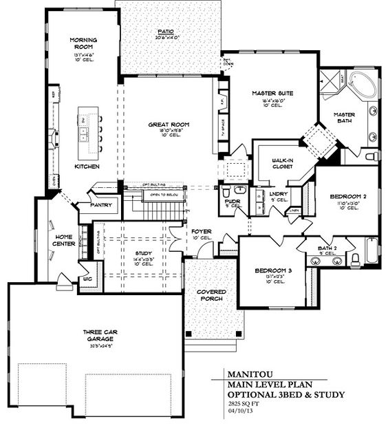 2 740 main floor finished sq ft 1 808 sq ft basement Two bedroom house plans with basement