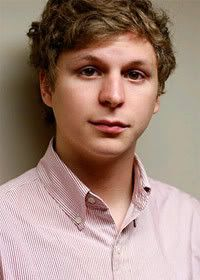 Micheal Cera - Ah I love the adorable dorky characters he plays :)