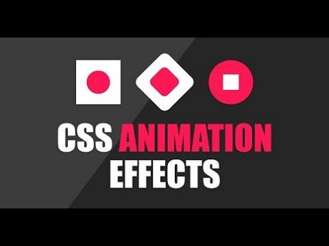Css Loading Animation Youtube Css Tutorial Css Animation Effects Css