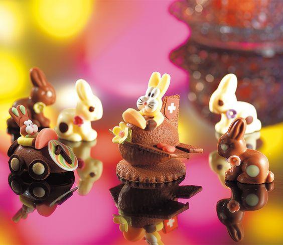 Mit wenigen Handgriffen lassen sich mit unseren Dekoren tolle Desserts kreieren - wie hier zu Ostern.