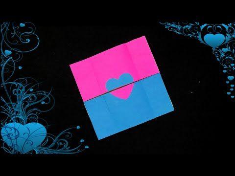 How To Make Never Ending Card Endless Card Making Idea Diy Card Youtube Diy Birthday Card For Boyfriend Cards Valentine Cards Handmade