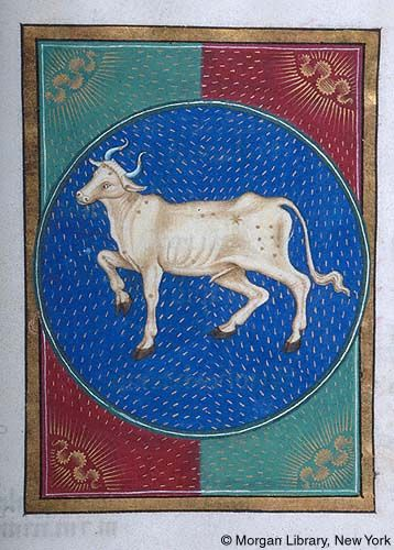 Book of Hours, MS G.14 fol. 6r - Images from Medieval and Renaissance Manuscripts - The Morgan Library & Museum: