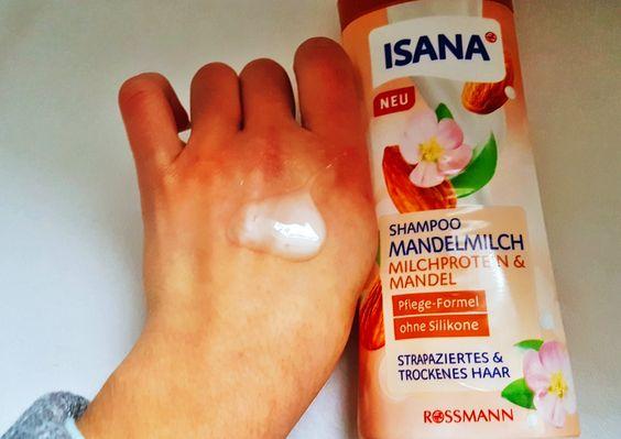 Isana Shampoo Mandelmilch mit Michprotein & Mandel