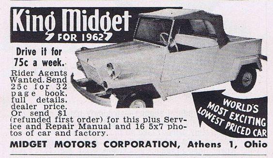 Midget 1962 With Images Chevrolet Logo Cycle Midget