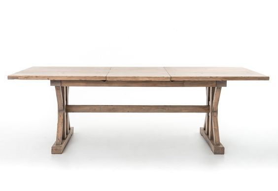 Furniture in knoxville four hands tuscan spring trestle for Dining room tables knoxville tn