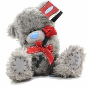 peluche me to you roses rouges cadeau saint valentin cadodescom